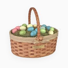 Give Your Child an Heirloom. Amish Vintage Easter Baskets from AmishBaskets.com