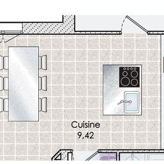 Plan de maison : Une maison en phase avec son époque | Faire construire sa maison House Plans, Floor Plans, How To Plan, Gallery, Home Plans, Flats, Home Kitchens, Modern Mansion, Roof Rack