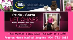 Stuck for a unique and useful Mother's Day gift? This is the gift of mobility that you will be remembered for every day of the year! For a limited time we are including a $100 Preston Gift Card with every purchase!