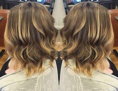We've got that #summer sun look for you! This #balayage from #Harper at our Woodbury location shows off a look that is perfect for the season.