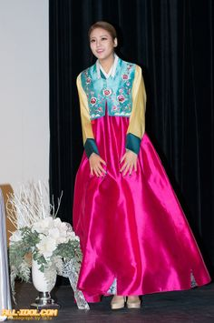 AOA HyeJung in Hanbok New Year's Greeting!