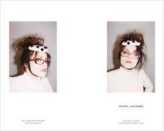 Helen Bonham Carter for Marc Jacobs dots dots