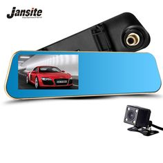 Newest Car Camera Car Dvr Blue Review Mirror Digital Video Recorder Auto Registrator Camcorder Full HD 1080P Camera Car Dvrs *** Find out more about the great product at the image link.