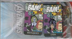 Lydia Beetlejuice BAM BOX Exclusive Collector's Pin September Theme Strange Set #bambox #pin #enamelpin #enamel #collector #collectorpin #ebay #deals  #beetlejuice #moviepins