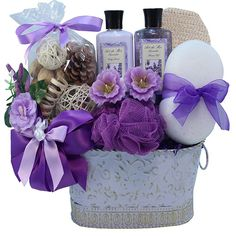 Art of Appreciation Gift Baskets Lavender Renewal Spa Bath and Body Gift Set, Medium ** To view further for this item, visit the image link. (This is an affiliate link)