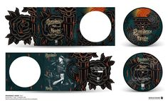 """PROVIDENCE/HOODS """"Aces"""" Picture disc 7"""" vinyl Limited to 300. Prestige sleeve packaging"""