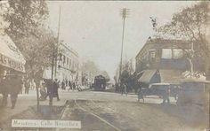 Calle Necochea, Mendoza Antigua
