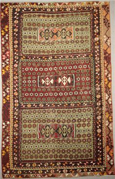 Kilims are flat tapestry-woven carpets and rugs that embody in its fabric a diverse mix of cultures: the Greeks, Armenians, Kurds, Assyrian, & Turkey.