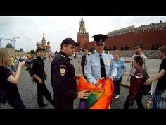 ЛГБТ-акция на Красной площади