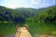 Black lake-Ayder plateau-Rize-Turkey