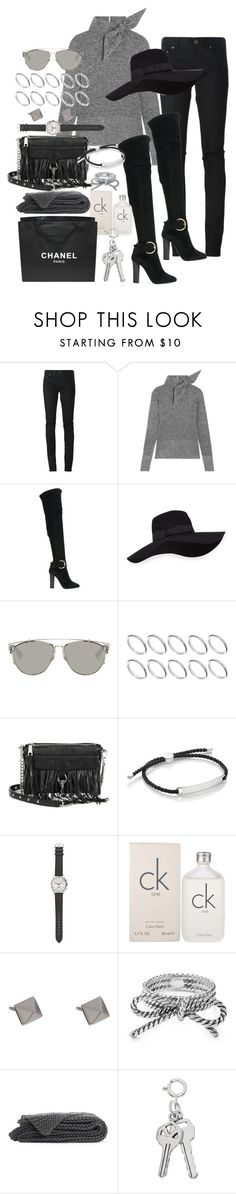 """Moving onward"" by marissa-91 ❤ liked on Polyvore featuring Yves Saint Laurent, Isabel Marant, Giuseppe Zanotti, San Diego Hat Co., Christian Dior, ASOS, Rebecca Minkoff, Monica Vinader, J.Crew and Calvin Klein"