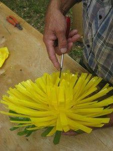 как сделать страуса из пластиковых бутылок пошаговая инструкция - фото 8