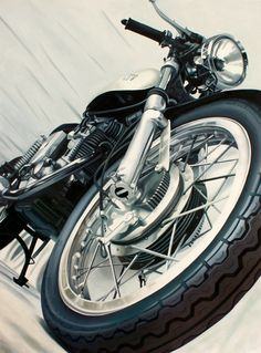 Motorcycle Art :: Guenevere Schwien