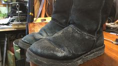 How to remove salt stains from winter boots   News  - Home
