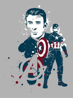 Steve Rogers : Captain America