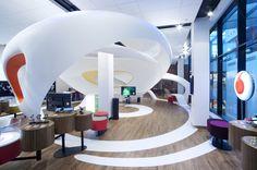 Vodafone data store by IO Studio, Ostrava – Czech Republic