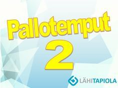 Pallotemput 2 - YouTube Physical Education, Physics, Workshop, Company Logo, Logos, School, Youtube, Play, Sport
