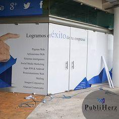 ¡Así está quedando nuestra nueva fachada!    #SocialMedia #Publiherz #Mexico