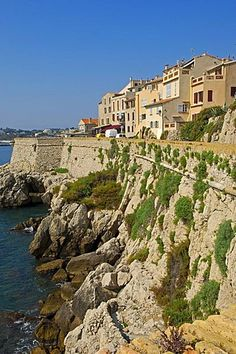 Old town, Antibes, Provence-Alpes-Cote d'Azur, French Riviera, France…