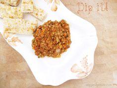 My crockpot lentils used as a dip   www.veggiesdontbite.com   #vegan #plantbased #glutenfree