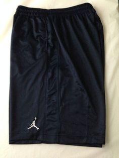 Basketball Regular Size L Shorts for Men Jordan Basketball, Air Jordans, Nike Air, Navy Blue, Shorts, Men, Shopping, Fashion, Moda