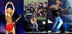Taylor Swift, Kenny Chesney & Jason Aldean Top Billboard Money Makers Of 2012 List