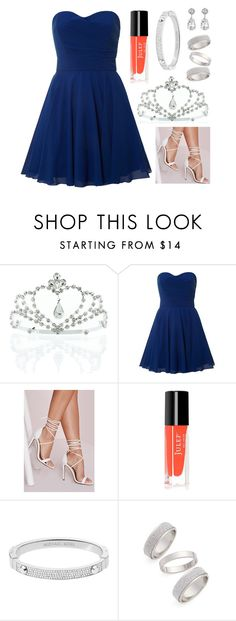 """""""☯ 2 . 25 . 16 / 1 ☯"""" by jamanabetsy ❤ liked on Polyvore featuring Kate Marie, TFNC, Missguided, Michael Kors, Topshop and Kenneth Jay Lane"""
