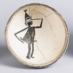 Mimbres Narrative Image  Bowl