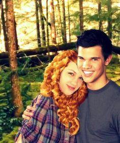 Renesmee and Jacob!