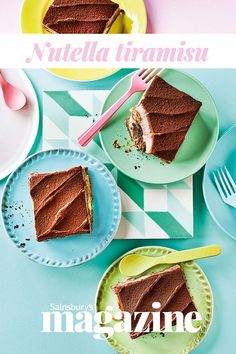 Tiramisu gets a double chocolate makeover with Nutella - serve with an extra espresso on the side