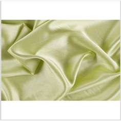 Sunny Lime Silk Charmeuse (308.355 IDR) ❤ liked on Polyvore featuring home and home improvement