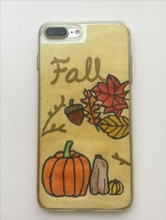 Homemade IPhone 7Plus Fall case by claudia gresa