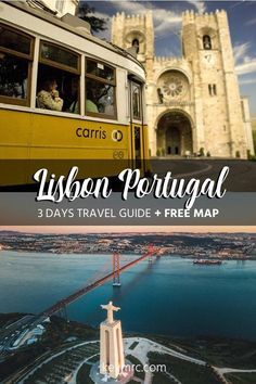 Lisbon, capital city of Portugal, is a very historically rich city, and there sure is a lot of things to discover.The question is: how to plan your visit to make the most out of your time in Lisbon? Today I'll share with you the best Lisbon Itinerary for 1, 2 or 3 days in Lisbon, to help you plan your visit. Let's get to it! #portugaltravel #falltravel #lisbon