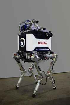 The Toshiba Robot!