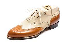 TYE Shoemaker: Co-respondent Shoes, Calf (Italy)