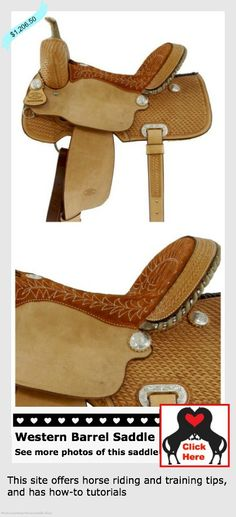 #westernbarrelsaddle - Do you have what it takes for barrel racing? This saddle does