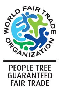 This i the World Fair Trade Organization (WFTO) label. This label has been around since 1989 and to obtain the label you have to be 100% fair trade in all of your products. In 2004 WFTO launched a certification program and is the FTO mark which is decided through personal assessments, mutual reviews and external verification.