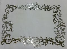 Ornate Frame.  Made by Caroline @ Pewter Concepts