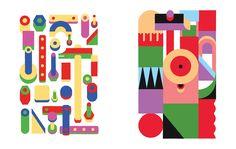 Vibrant Geometric Illustrations by Giacomo Bagnara