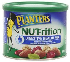 Planters NUT-rition Digestive Health Mix, 9-Ounce Cans (Pack of 3) >>> Read more reviews of the product by visiting the link on the image.