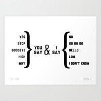 Beatles Lyrics flowcharts. Amazing!
