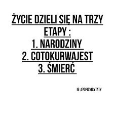 Zobacz zdjęcie ... w pełnej rozdzielczości Sad Quotes, Words Quotes, Best Quotes, Sayings, Wtf Funny, Funny Memes, Jokes, Funny Thoughts, Quotations