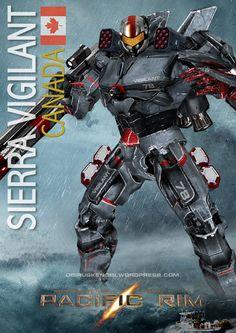 •PACIFIC RIM JAEGER SIERRA VIGILANT 2.0 CANADA by rs2studios