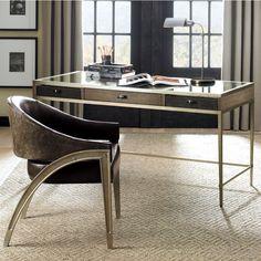 The Modern Artisan Desk You Can Pick A Dark Or Light Oak Finish Based On