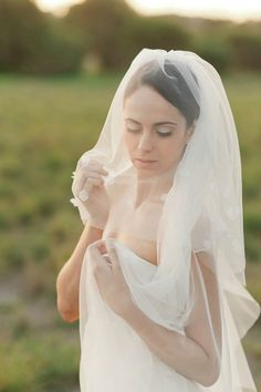 Veil from Olive Farm Designs / Jason Tey Photography