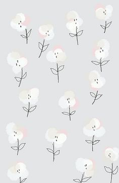 Flower pattern ★ iPhone wallpaper