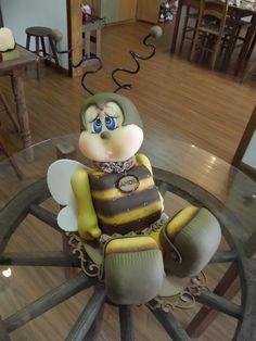 abelha de balcão | Ketlin Rocha Hoffmann | Elo7