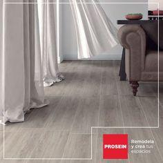 Crea un espacio acogedor con nuestros pisos tipo madera #HazloPosible