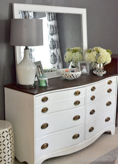 How to Style a Dresser | Dresser, Bedrooms and Master bedroom
