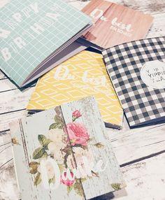 Tutorial Time: Team Mitglied @janinemattis teilt eine Anleitung für süße Geburtstags Mini Alben jetzt aufm #papierprojekt Blog.